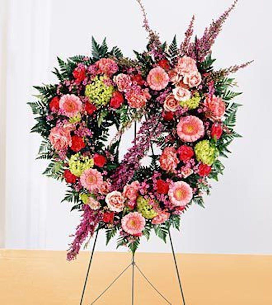 Eternal Rest Floral Funeral Heart Als Florist Hollywood
