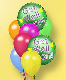 Hollywood, Mirama & Weston (FL) Get Well Soon Balloon Bouquet