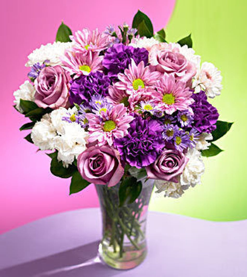 Hollywood Fl Birthday Flower Delivery Purple Passion Bouquet