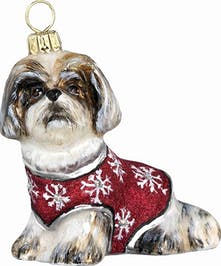 Joy to the World Pet Set Shih tzu