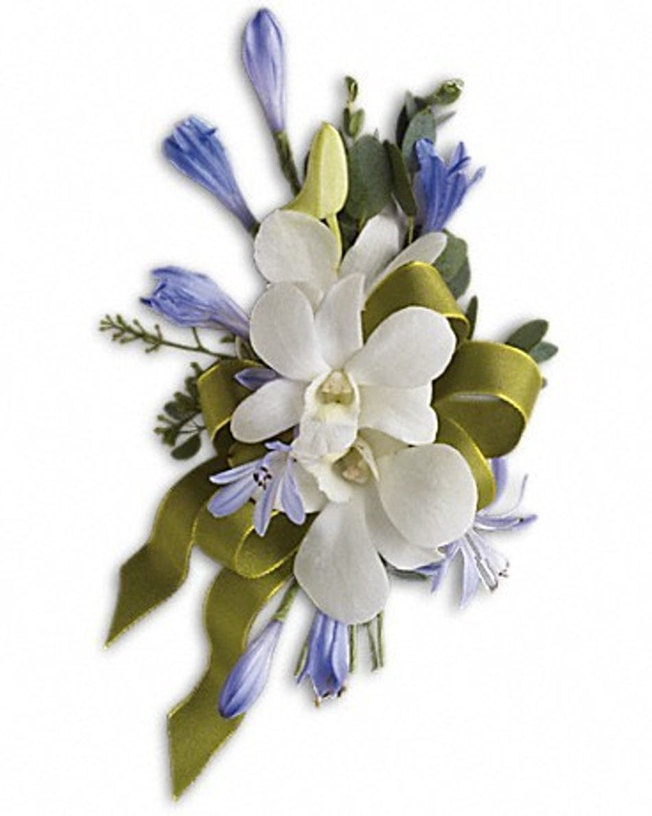 Blue moon corsage prom flowers hollywood fl blue moon corsage izmirmasajfo