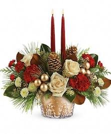 Winter Pines Bouquet