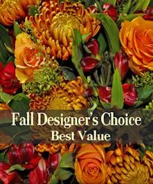 Designers Choice  Fall Arrangement - Hollywood (FL) Florist