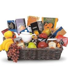 Grand Gourmet Fruit Basket